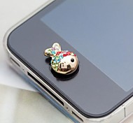 Colorful Clown Fish Alloy Button Sticker