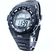 Men's Sporty  Digital Silicone Band Wrist Watch Cool Watch Unique Watch Fashion Watch