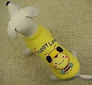 adorabile ape modello gilet con t-shirt per cani (colori assortiti)