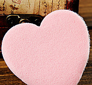 1Pcs Heart Shaped Cleansing Sponge