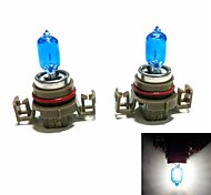 Super White H16 12V 24W Car Halogen Light Bulb Filled with Xenon (5000K)