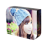 Circular Bead Square Crystal Photo Frame 130*180mm
