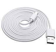 2M 6.6FT White Mundus CD15 USB2.0 Mirco USB Data Transmit and Charging Cable for Samsung / HTC / and other Free Shipping