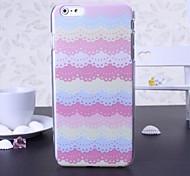 красота кружева пластик твердый переплет для iPhone 6 Plus (разные цвета)