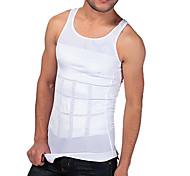 uomini shaper dimagrante gilet serbatoio stretto underwear vita addome disegno respirabile edizione sport ny082 bianchi