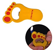 Creative Feet Metal Lighters Toys (Random Color)