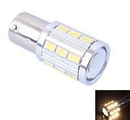 High Quality 1157/BAY15D 4W 220LM 21x5730 SMD Warm White LED for Car Brake Light (DC12-24V, 1Pcs)