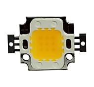 JIAWEN® 10W 800-900LM 3000K Warm White LED Chip (DC 30-33V)