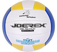 JOEREX® 5# PVC Machine Sewn Volleyball Assorted Color Red Yellow