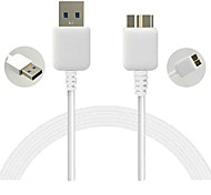 DF White Micro USB 3.0 Data Charger Cable for Samsung S5/NOTE3