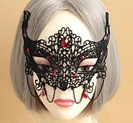 festa halloween máscara sexy rendas das mulheres
