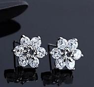 Z&X®  Fashion High Grade Austria 3A Zircon Earrings