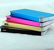 12000mAh Super Thin Power Bank for iphone5/5s Samsung S4/5 and other Mobile Devices (5V 2A, Optional Colors)
