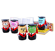 Cute Coin Bank Dressed in Baccalaureate Gown Toys for Gifts