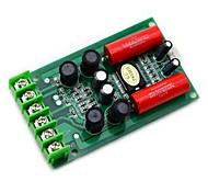 Jtron TA2024 DC 12V Double Track 15W + 15W Car PC Hi-Fi Mini Digital Amplifier Board - Green