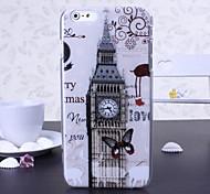 Лондон Биг Бен шаблон пластиковый жесткий чехол для iPhone 6 Plus