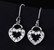Z&X®  Fashion High Grade Delicate Simple Hearts Earrings