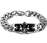 Z&X®  Men's Fashion Classic Crow Titanium Steel Bracelet