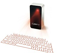 icyberry Laserprojektion virtuelle Tastatur für iPhone, Smartphone, Laptop oder Tablet-