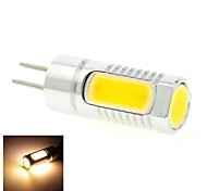4W 4 COB 300 LM Warm White T LED Bi-pin Lights DC 12 / DC 24 V
