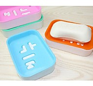 Novel and Fashionable with Korean Soap Dish (Random Color)