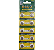 AG6/LR920/371A 1.55V Alkaline Watch Battery 10PCS