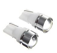 t10 1.5w lente condensadora blanco llevó las lámparas de instrumentos del coche (12V CC, 2 unidades)