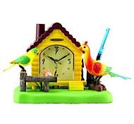 megafeis® t300 schöne Vogel Pfau Haus Wecker Federhalter chirm Wackel / new Weihnachten Neujahr Geschenk für Kinder