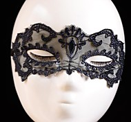 mode dentelle masque simple de danse