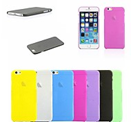 PP Ultra Thin 0.01 inch/0.3 mm Soft Case for iPhone 6 (Assorted Colors)