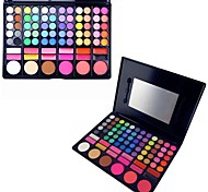 78 Eyeshadow Palette Dry / Matte / Shimmer Eyeshadow palette Powder Normal Daily Makeup / Party Makeup / Smokey Makeup
