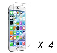 Clear Screen Protector Film for iPhone 6 (4 pcs)