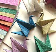 Flash Powder Papercranes Origami Materials(12 Pieces/Bag)
