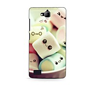 Cartoon Design Lovely Expression Design Hard Case for HuaWei Honor 3C