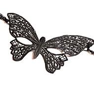 moda sexy padrão de borboleta máscara natal dança