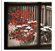 zooyoo® bonito pvc imagem vermelha removível colorido círculo beleza de adesivos de parede adesivos de parede de venda quente para a