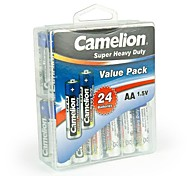 Camelion Super Heavy Duty AA Battery in Container Box of 24 PCS