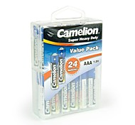 Camelion Super Heavy Duty AAA Battery in Container Box of 24 PCS