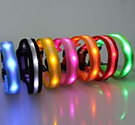 Double-sided Highlight Night Safety LED Flash Collar for Dogs(Assorted Size,Assorted Color)