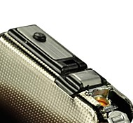 2-in-1 Cigarette Case with Butane Jet Torch Lighter Toys