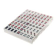 raffinierte Hüften reisen Umwelt Mahjong Pack mit Tasche