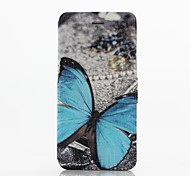 Blue Butterfly Pattern Full Body Case with Stand  for iPhone 6