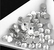 Flatback - стекло - Драгоценные камни - 100 -