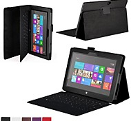"Shy Bear™ Leather Cover Tablet Case Without Keyboard for Microsoft Surface RT 10.6"" Tablet"