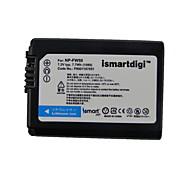 Ismart Camera Battery for Sony NEX-3, NEX-3C, NEX-5, NEX-5A, NEX-5C