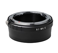 AI-M4/3 Mount Adapter Ring Nikon F Lens to MICRO 4/3 Body E-PM2 EM5 EPL5 GF5 GF3
