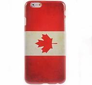 Canada Flag Design Hard Case for iPhone 6 Plus