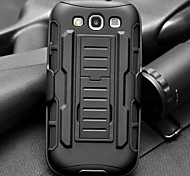 Strap Clamp Drop Resistance Armor Protective Jacket with Stand and Clip for Samsung Galaxy S3 I9300