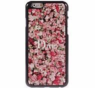 Red Rose Design Aluminum Hard Case for iPhone 6