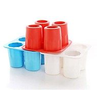 Ice Shots Cube Tray Silicone Mold Tool Cup Shape Bar Party Drink Coke